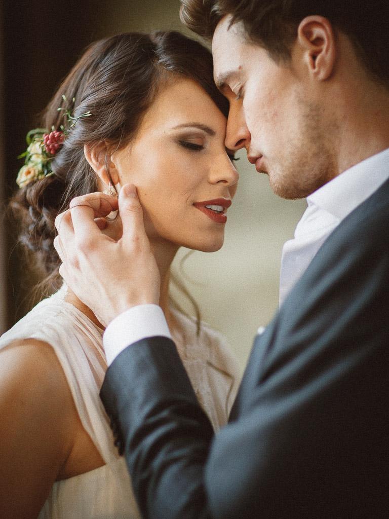 Brautpaar in Villa Sorgenfrei