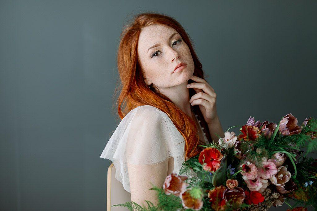 Ginger Beauty <br/> Boudoir shoot